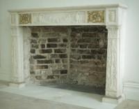 Restoration of marble surround