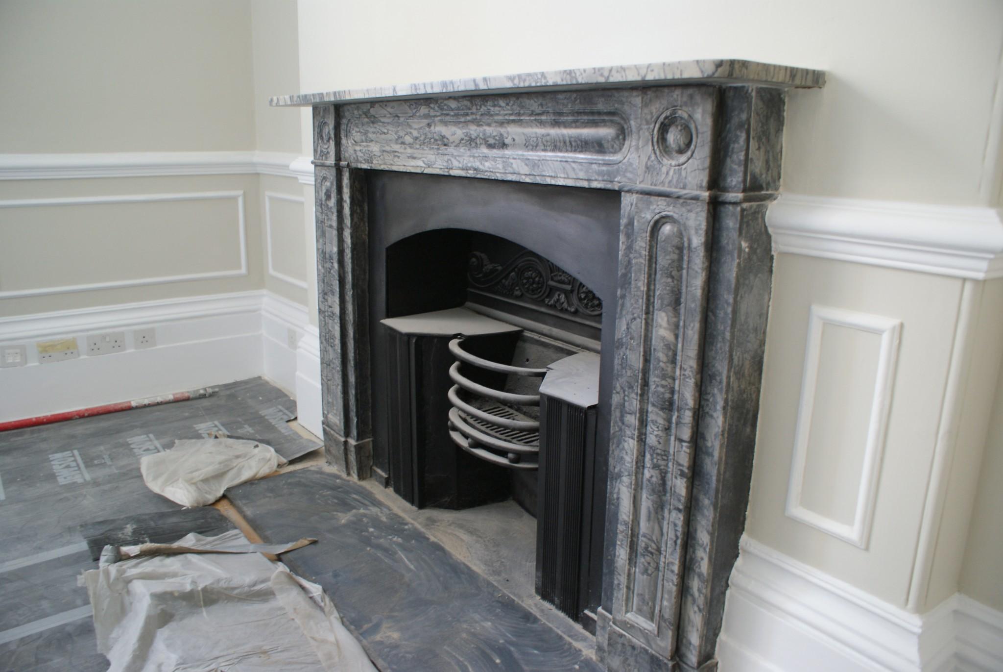 Harley Street Fireplace restoraiton