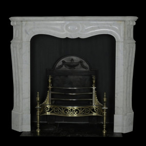 Carrara Marble French Louis XVI