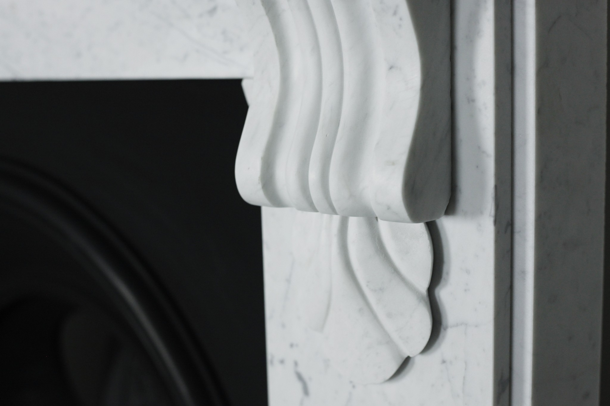 reproduction marble surround