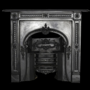 Regency cast iron fireplace