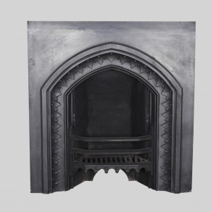 Gothic Revival Cast Iron Insert