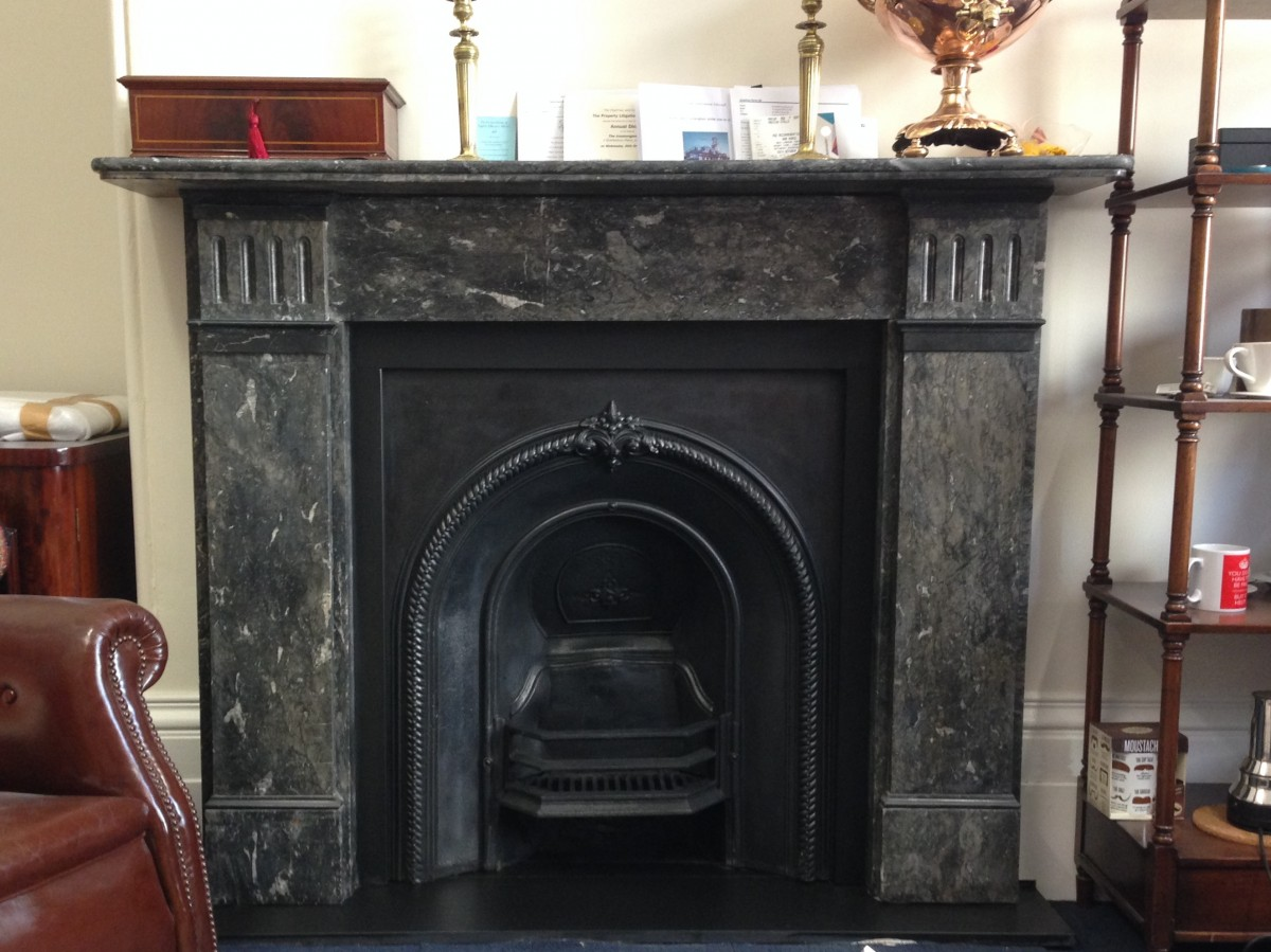 Victorian St. Anne marble surround