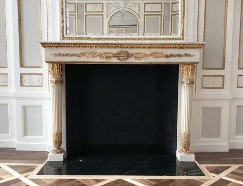 Grosvenor Crescent Embassy Fireplace Restoration